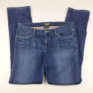 """Lucky Womens 12/31 Jeans Sweet Jean Straight 34"""""""
